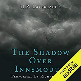 The Shadow over Innsmouth                   By:                                                                                                                                 H. P. Lovecraft                               Narrated by:                                                                                                                                 Richard Coyle                      Length: 2 hrs and 32 mins     2 ratings     Overall 5.0
