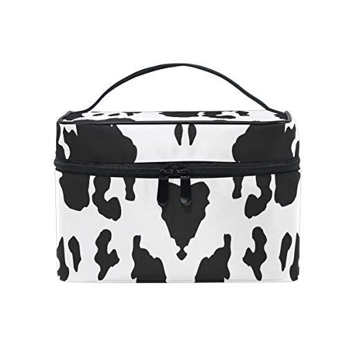Art De La Vache à Lait Trousse Sac de Maquillage Toilette Cas Voyage Sac Organisateur Cosmétique Boîtes pour Les Femmes Filles