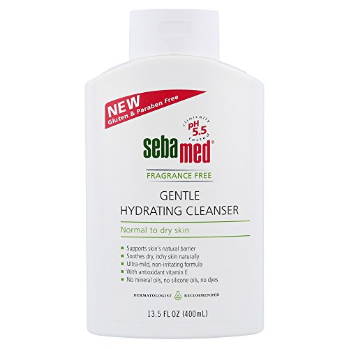 Sebamed Sebamed Fragrance Free Gentle Hydrating Cleanser Normal To Dry Skin, 13.5 Ounces, Clear