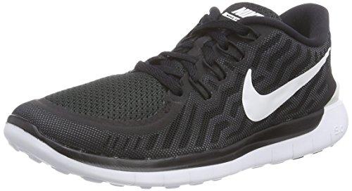 Nike Free 5.0, Chaussures de Running Femme, Noir (Black), 38