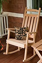 product image for Cedar Classic Front Porch Rocker - Stained- Amish Made USA -Natural