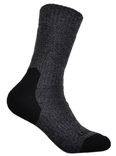 WB Socks 2 Paires de Coolmax Chaussettes de Randonnée en Laine - Femme