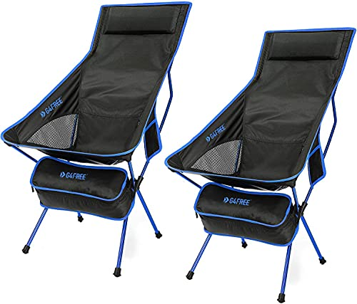 G4Free Upgraded Outdoor 2 Pack Camping Chair Portable ...
