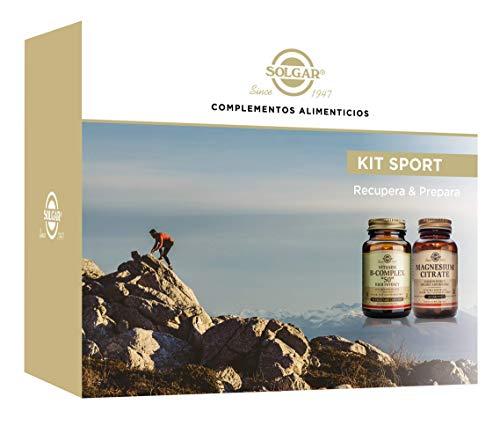 Solgar Pack deporte b complex+citrato magnesio 1 Unidad 300 g
