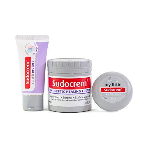 Sudocrem Nappy Rash Cream Kit - Includes Sudocrem Care & Protect 30g +...