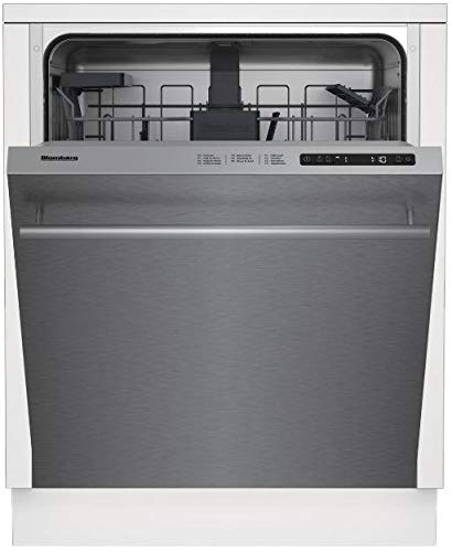 Blomberg DW51600SS 24 Inch Built In Dishwasher with 6 Wash Cycles, 14 Place Settings, in Stainless Steel