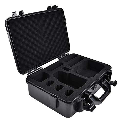 POHOVE Funda rígida impermeable para DJI Mavic Mini 2, funda de transporte con mando a distancia de gran capacidad, no incluye dron