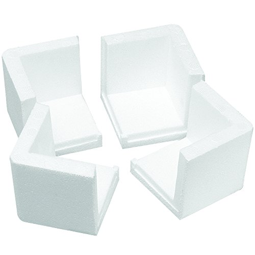Aviditi PF201MS Foam Corner Protectors for Moving, 3