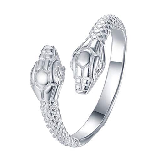 AVILMORE シルバー スネーク リング 指輪 フリーサイズ 蛇 メンズ レディース ユニセック