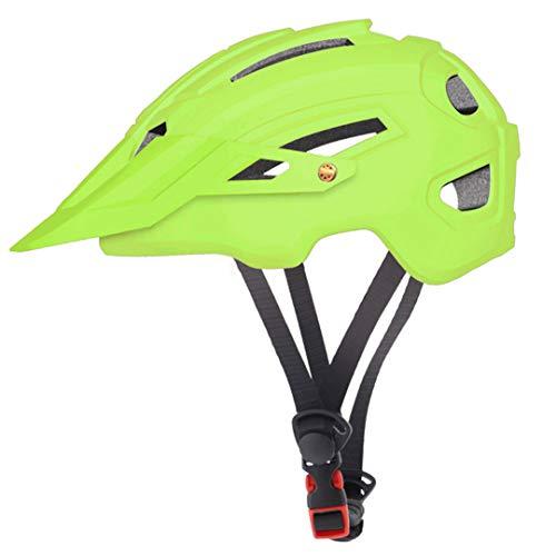 Casco de Ciclismo con Sombrero EPS + PC Cubierta de PC MTB Casco de Bicicleta Integral-Molde Ciclismo Casco de Bicicleta TK-0806