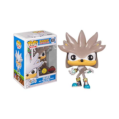 Funko Pop Sonic The Hedgehog - Silver Glow 30th Anniversary