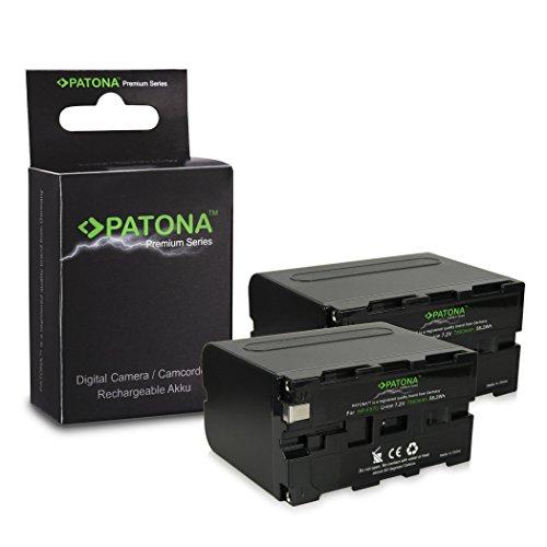 2x Premuim Bateria NP-F950 / NP-F960 / NP-F970 para Sony Camcorder Sony...