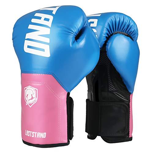 ASTSTAND Boxing Gloves for Men & Women, Boxing Training Gloves, Kickboxing Gloves, Sparring Gloves, Heavy Bag Gloves for Boxing, Kickboxing, Muay Thai, MMA (Navy,8OZ)