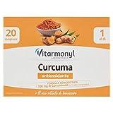 Vitarmonyl Curcuma ● Integratore 20 Compresse ● Antiossidante ● Formula Concentrata ...