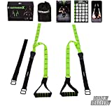 Fitness Kings Suspension X Bodyweight Resistance Suspension Straps Home Gym...