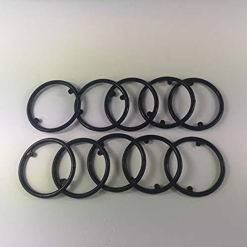 NAWQK 10pcs Motorölkühler Dichtung/Ölkühler Gehäusedichtung gepasst for Audi 038117070A 380 634/038 117 070 A