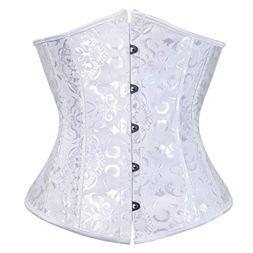 Sexy Women Push Up Bustiers Corsets Strapless Off Shoulder Slim Crop Tops Clubwear Party Outwear Slim Crop Tops Clubwear Party Outwear Lacing Corset top Satin Floral Boned