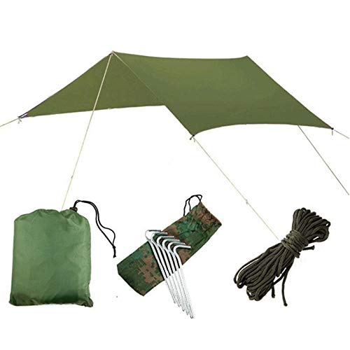 GDD - Tienda de campaña para playa, 3 x 3 m, impermeable, para camping, toldo, toldo