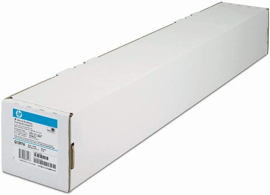 HP Q1397A Designjet Large Format Paper Universal Bond, 4.2 mil, 36