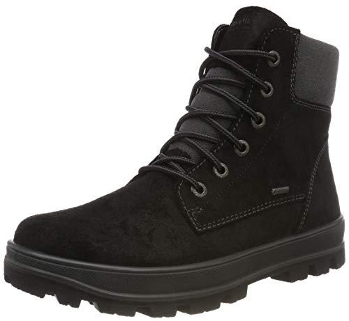 Superfit Chłopięce buty zimowe TEDD z ciepłą wyściółką Gore-Tex, czarny - Czarny czarny 02-31 EU Weit