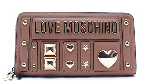 Love Moschino Damen Brieftaschen JC5637 PU Cammello Synthetisch Beige
