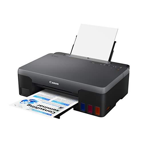 Canon PIXMA G1520 - Stampante multifunzione Mega Tank DIN A4 (scanner, fotocopiatrice, stampante a getto d inchiostro, stampante fotografica, 4800 x 1200 DPI, USB, stampa fronte), nero