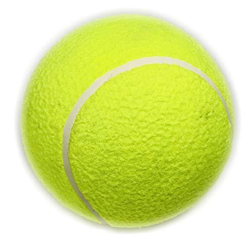 BUSDUGA - Tennisball XXL Ø 21 cm - ideal als Spielzeug für Familie und Haustier