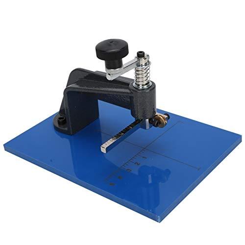Mesa de corte de vidrio de acero Cortador de vidrio circular de alta calidad de 2 piezas La opción ideal proporciona un excelente rendimiento de corte para cortar vidrio redondo