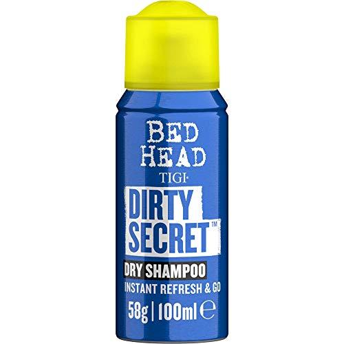 Tigi Bed Head by Tigi - Dirty Secret, Champú en seco de lavado instantáneo, tamaño de viaje, 100 ml