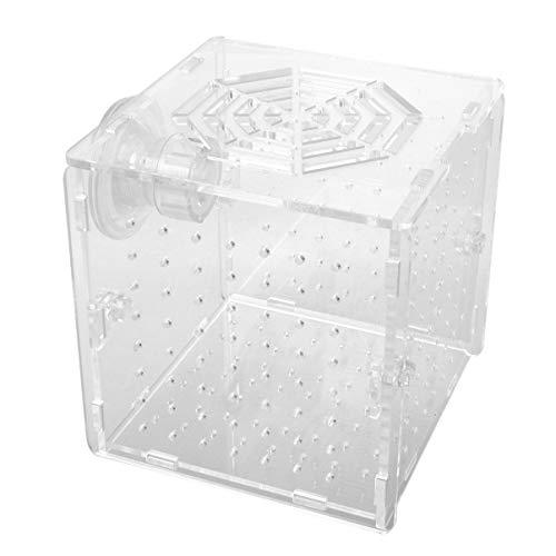 Balacoo Aquarium Incubator Broedbak Vis Zaailingen Case Acryl Isolatie Box Viskwekerij Tank Voor Winkel Tuin Zwembad Huis