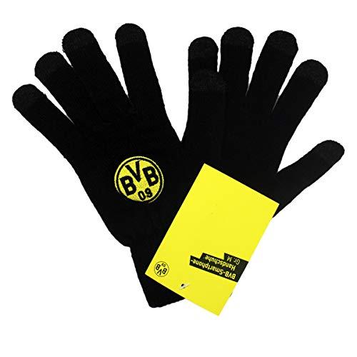 Borussia Dortmund, BVB-Smartphone-Handschuhe, Schwarz, M