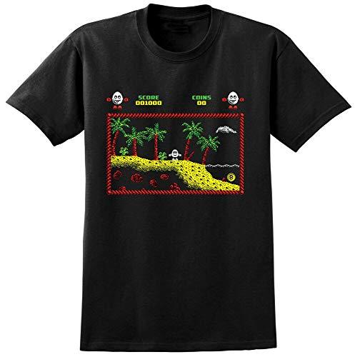 Short Sleeve Dizzy Computer Game Inspired T-Shirt - C64 Spectrum Amiga Amstrad...