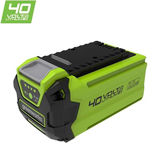 Greenworks Akku G40B25 2. Generation (Li-Ion 40 V 2.5 Ah wiederaufladbarer leistungsstarker Akku passend für alle Geräte der 40 V Greenworks Tools Serie)