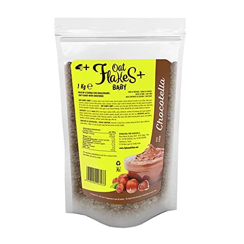 4+ NUTRITION - Oat Flakes+ Baby, Fiocchi d'Avena, Fonte di Proteine, Ricco di Fibre, con Basso...