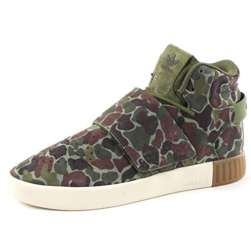 adidas Tubular Invader Strap Schuhe brown/white