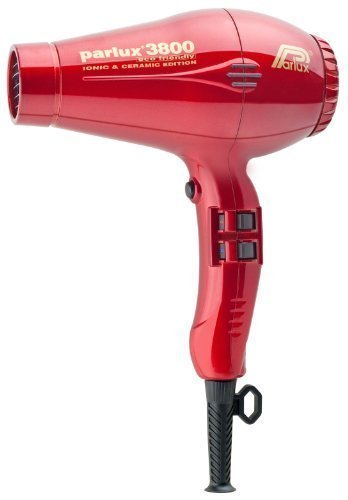 Parlux 3800 Ceramic Plus Ionic Eco Friendly Metallic Red by Parlux (English Manual) by Parlux
