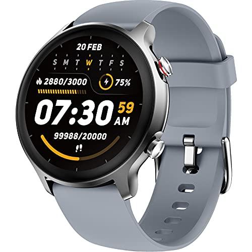 LIFEBEE Smartwatch, Orologio Fitness Tracker Uomo Donna Impermeabile 5ATM Saturimetro(SpO2)/Cardiofrequenzimetro da Polso Sonno salute delle donne, Activity Tracker Previsioni Meteo per Android iOS