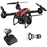 SANROCK 1080P HD Camera Drones for Adults And Kids, X105W RC...