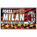 AC Milan Crest Fahne Flagge 90cm x 150cm