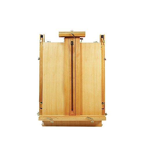 WAWDZG massief hout ladeboxen volwassen hand beschilderd hout kunst doos doos draagbare schilderij aquarel schilderij Easel Schilderen kan Lift een Desktop Box Schilderij Box ezel