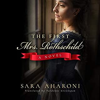 The First Mrs. Rothschild audiobook cover art