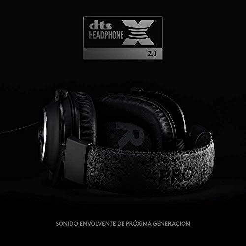 Logitech G PRO X (2. Generation) Gaming-Headset Streamcam für Live Streaming und Inhaltserstellung in Full HD