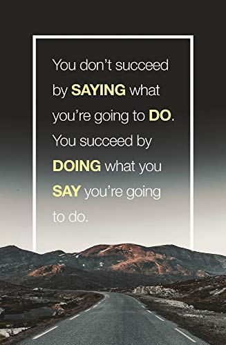 Motivational Posters Inspirational Wall Art – Positive Quotes with...