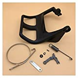 XUNLAN Durable Kit de protección de la manija de Freno de Cadena Fit para STIHL 021 023 025 MS210 MS230 MS250 MS 210 230 250 Piezas de Motosierra 11237929100 Wearable