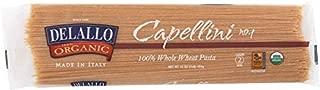 DeLallo (NOT A CASE) Organic Pasta Capellini Whole Wheat No.1