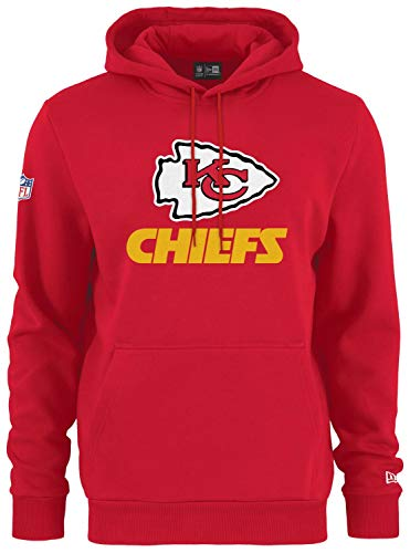 New Era - NFL Kansas City Chiefs Team Logo Hoodie - Rot Größe L, Farbe Rot