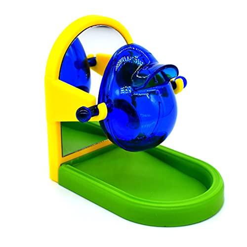 (ST TS) 餌入れ インコ オウム 小鳥 おもちゃ 知育おもちゃ トレーニング ケージ固定 エサ入れ バードトイ