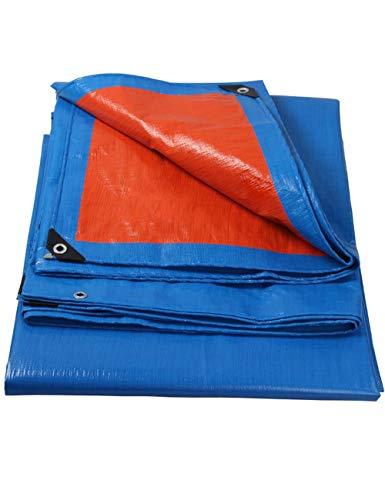WYJW Tent accessoires Rugged dekzeilen Waterdicht dekzeil Trailer cover Multi-layer dekzeil in verschillende maten Voor kampeerders Schilders Boeren Boten Tuin 4m*6m