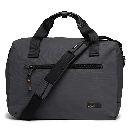 "PacSafe Men's UNbox Therapy x Anti Theft Briefcase-with Padded 15"" Laptop & Tablet Sleeve, Charcoal, 19 Liter"
