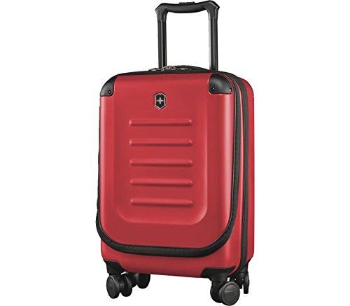 Victorinox Spectra 2.0 Expandable Global Carry-On - Valigia Trolley Bagaglio a Mano Espandibile - 4 Ruote - 20x35x55cm - 29l - 3Kg - Rosso